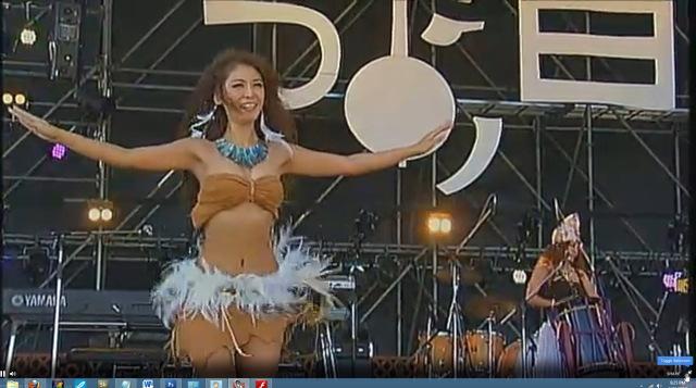 Tahitian dance.