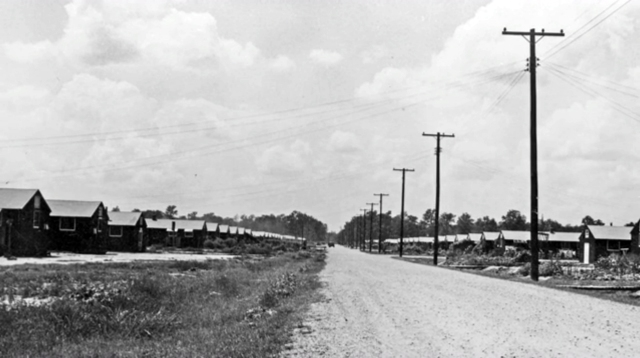 Rohwer Relocation Center during WWII.