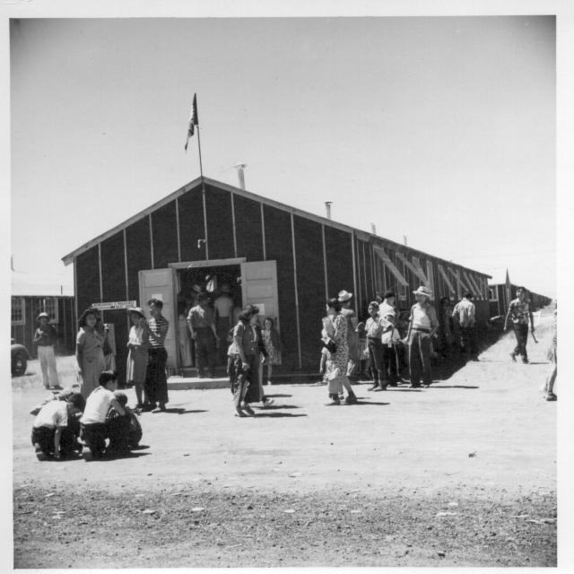 A view of general store No. 1 at the relocation center. -- Newell, California. 7/1/42