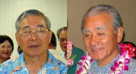 Choko Takayama and Herbert Shimabukuro