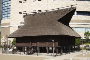 Kofun era warehouse – Kofun period (250AD).
