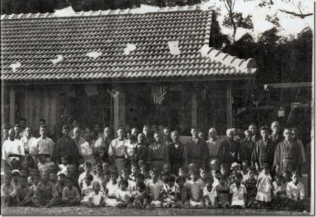 Panel 2. Haneji Community Center, Haneji, Okinawa.
