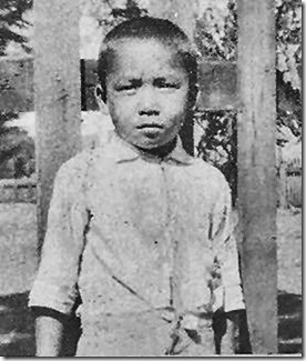 A picture of my Dad when he was about 8 years old... standing in front of the Japanese school in Kekaha, Kauai I believe taken just before he left for Okinawa.