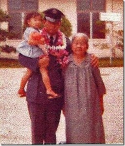 """When Dad first heard this song by Rimi Natsukawa, I thought of Baba... your Okinawan great-granmother (picture above).  She has been gone for over 40 years now... but I still think of her often."""