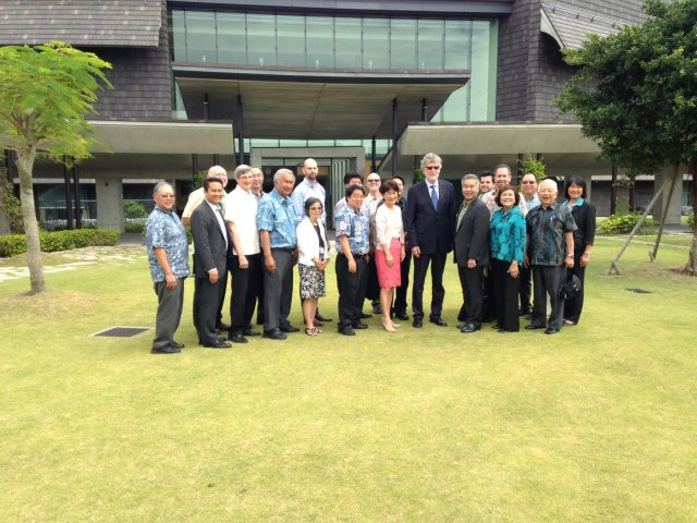 Okinawa Institute of Science and Tecnhnology (10/8/15) — in Uruma-shi, Okinawa, Japan.
